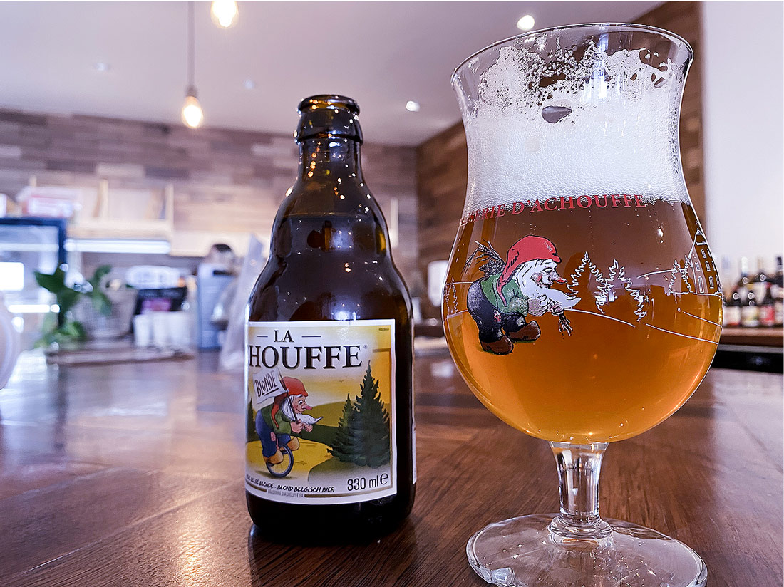 Try La Chouffe Belgian Beer at Dee Why Coffee Shop