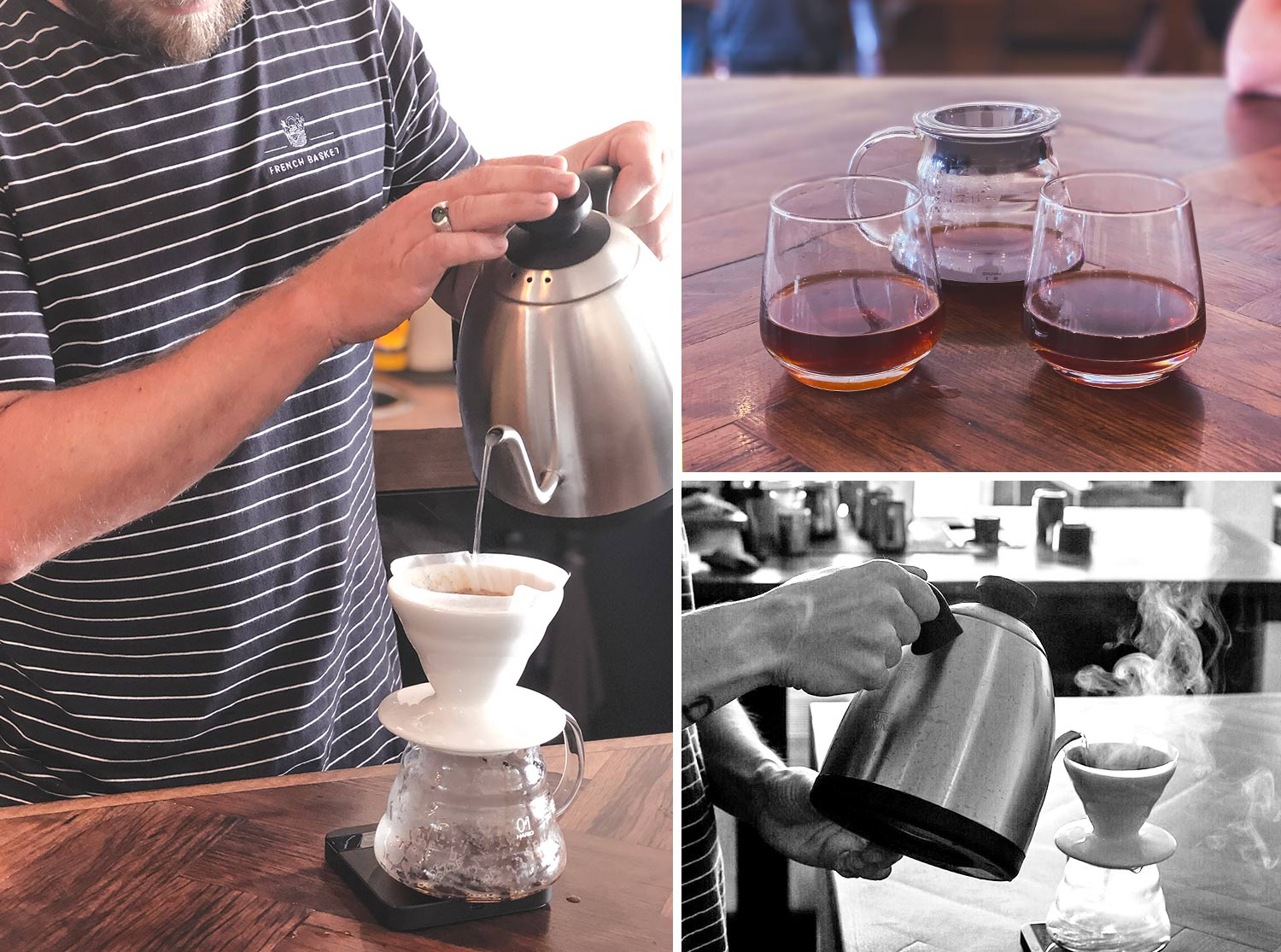 Pour Over Coffee at Northern Beaches Cafe