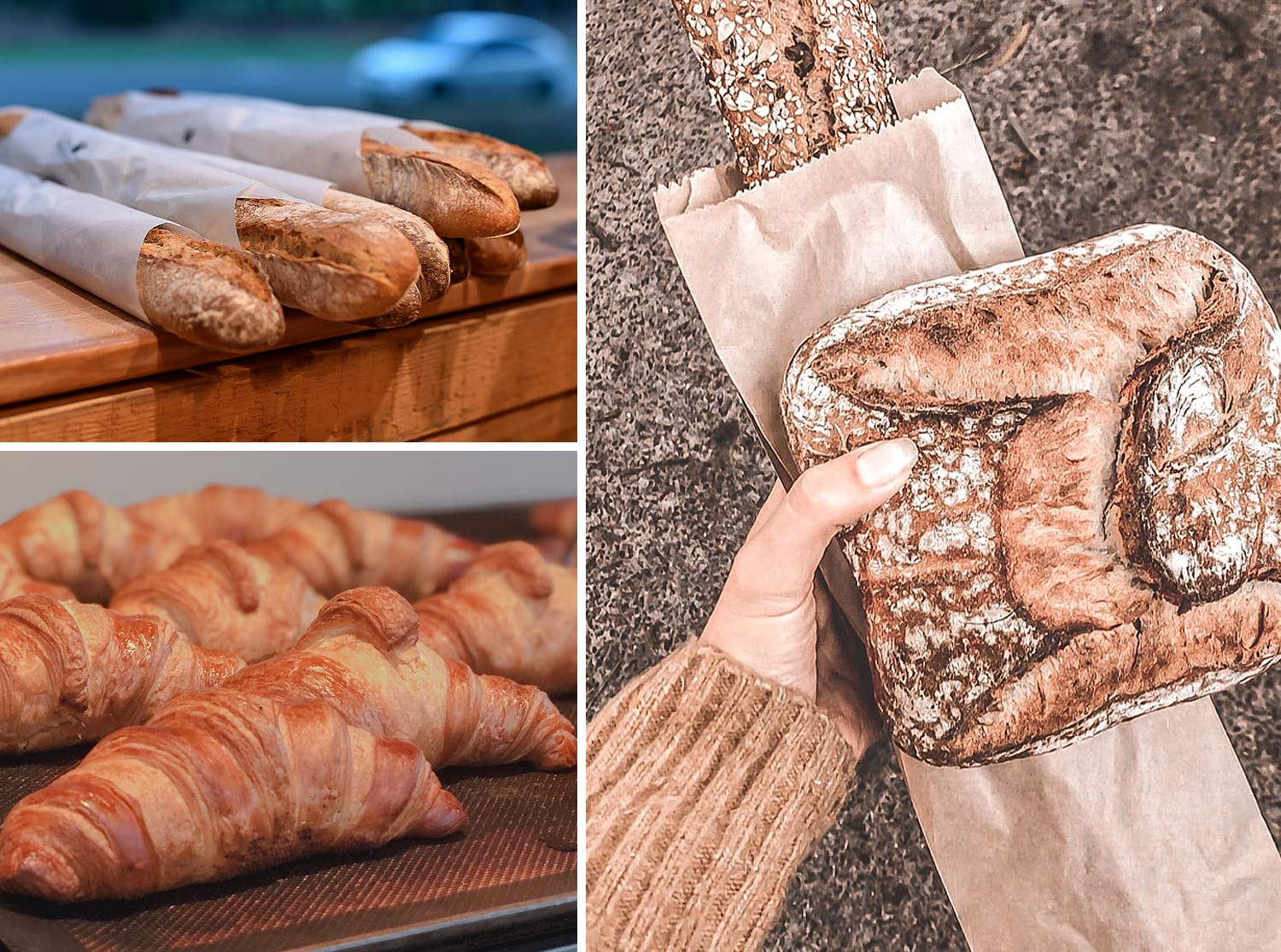 Delicious breads available in Northern Beaches Cafe