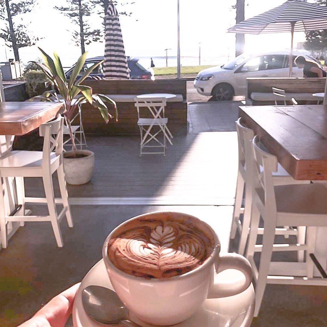 Tables at Dee Why Cafe in NSW